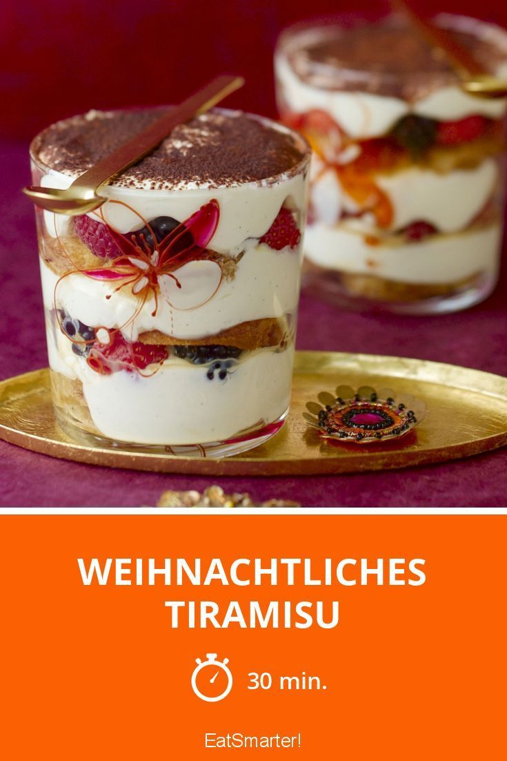 Weihnachtliches Tiramisu - smarter - Zeit: 30 Min.   eatsmarter.de