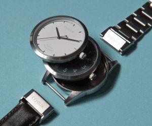 Tu veux avoir une nouvelle montre tous les jours ? Trop cher n'est pas ? Tu as la solution avec cette montre interchangeable.