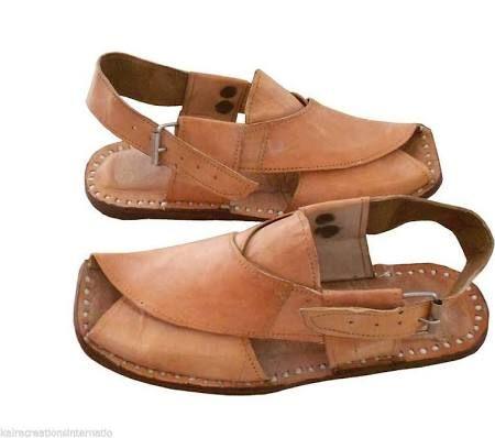 Us 8 11 Traditional Handmade Leather Men Shoes Sandal Camel Flip Flops Mojari Camel Leather 8