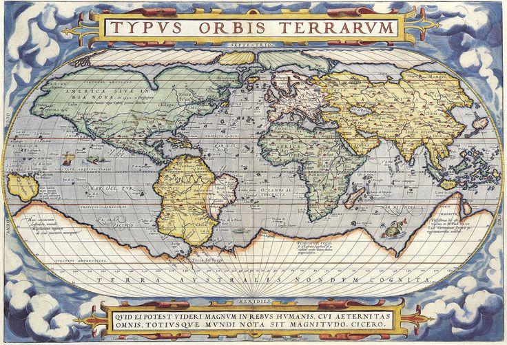 Upeat vanhat maailmankartat todistavat, että maailman muoto tunnettiin jo hyvin varhain - Tekniikanmaailma.fi