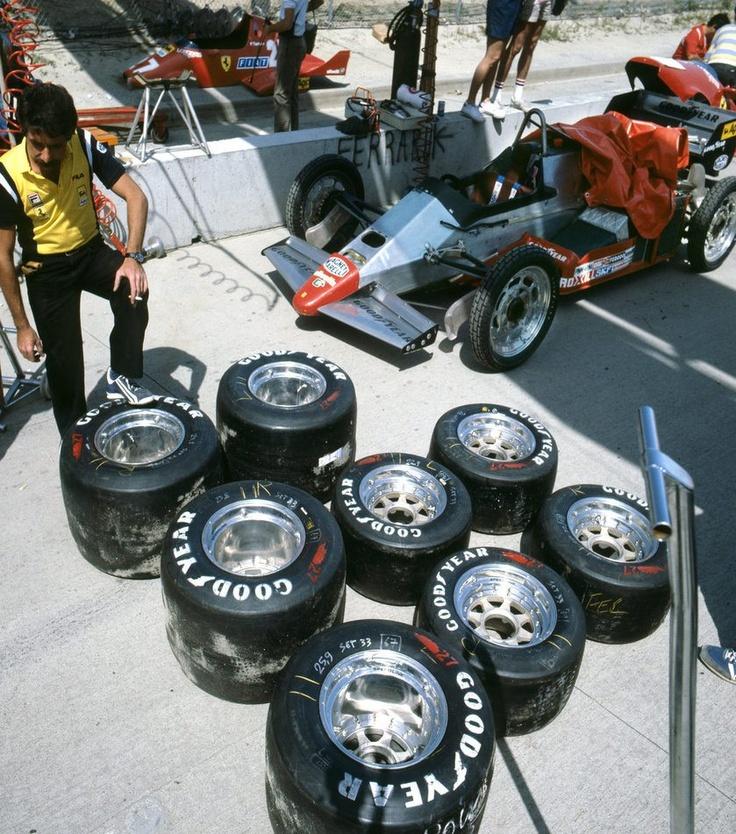f1 Ferrari 126 C2 1496c 1983-USA Grand Prix of F1