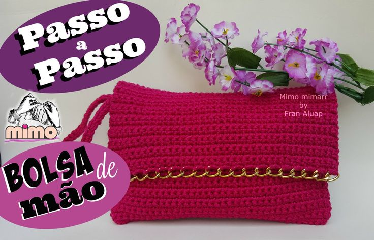 Bolsa De Mão Em Crochet : Ideias sobre bolsa de m?o croch? no