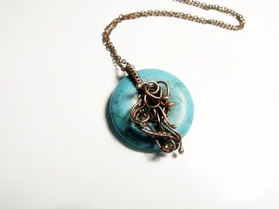 Check out this item in my Etsy shop https://www.etsy.com/listing/225669222/turquoise-howlite-necklace