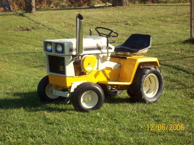 Cub Cadet 169 Garden Tractor : Best images about ga rod en tractor on pinterest