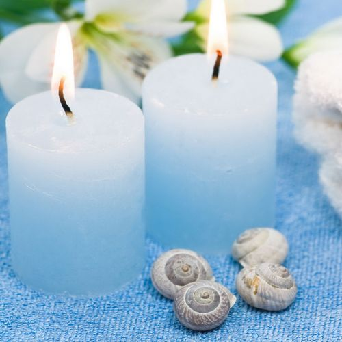 9 Best PRETTY BLUE CANDLES Images On Pinterest