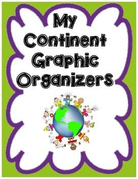 Are your students learning about a continent? This freebie helps students organize their continent research in an easy to complete format. By completing the graphic organizer, students find out interesting facts, what their continent looks like, landforms, famous people, languages spoken, number of countries and holidays observed.