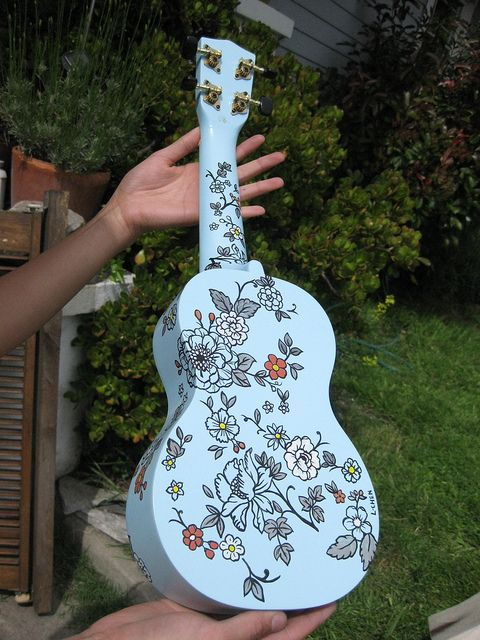 This is what I want my uke to look like...