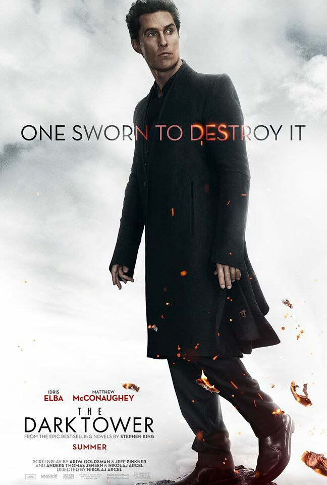 New poster for the Dark tower movie.