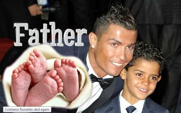 Real Madrid Star Cristiano Ronaldo Is now a father of three, Blessed withTwins this time