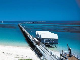 Walk the Busselton Jetty in Western Australia. It's 1.8km long!!! The longest jetty in the Southern Hemisphere.