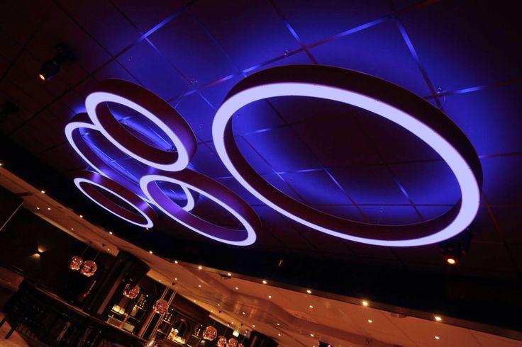 Interior design hospitality LED RGB designed by Linda Pol