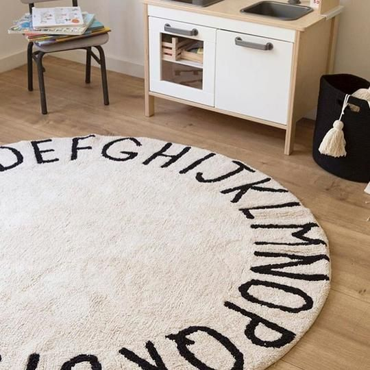 A B C 1 2 3 My Mom Thinks That This 48in Round Carpet Is Going To Be A Nice Addition To Baby Beans Room Especially With Images Rugs Washable Area Rugs Baby Play Mat