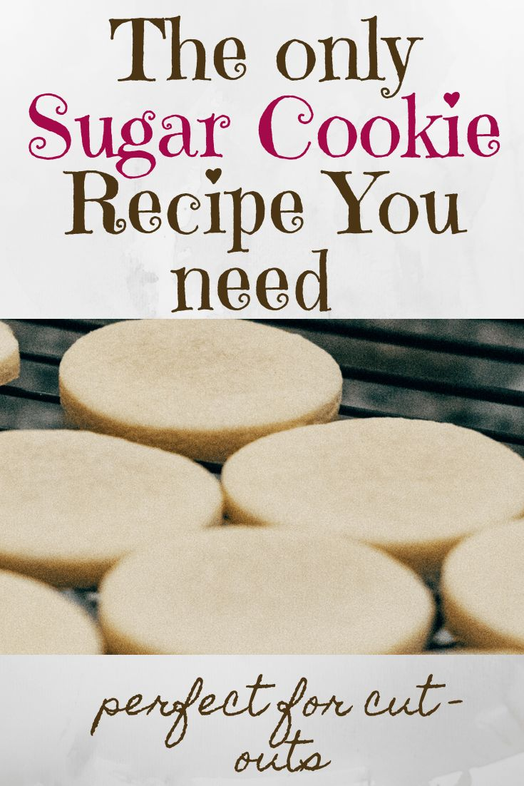 These hold their shape and taste great! It will be the only sugar cookie recipe you need for cookie cut-outs!
