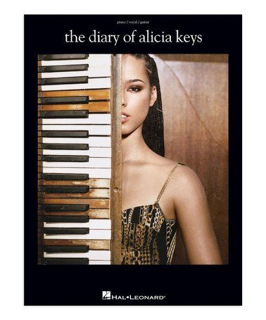 This The Diary Of Alicia Keys Songbook Is Perfect Zulilyfinds