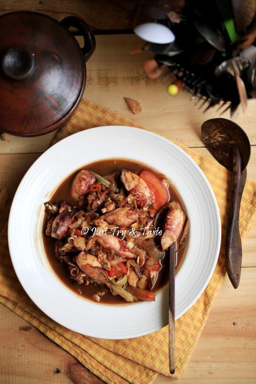 Just Try & Taste: Resep Tumis Cumi- Cumi Asam Pedas