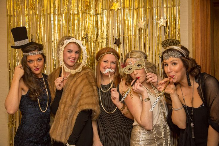 A Great Gatsby New Years Eve Shower | The o'jays, New Year ...