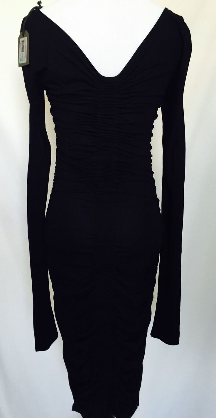 Awesome Great Allsaints Black Tight Low Back Dress NWT Size 2 Retail $215 Just $84 All Saints  2018 Check more at http://24shopping.tk/fashion-clothes/great-allsaints-black-tight-low-back-dress-nwt-size-2-retail-215-just-84-all-saints-2018/