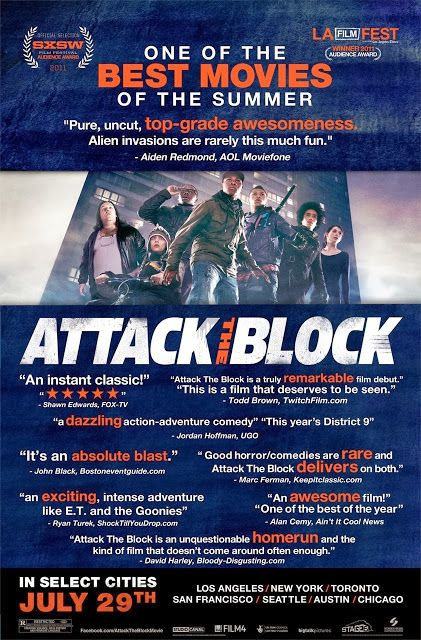 """FULL MOVIE! """"ATTACK THE BLOCK"""" (2011)   Jerry's Hollywoodland Amusement And Trailer Park"""