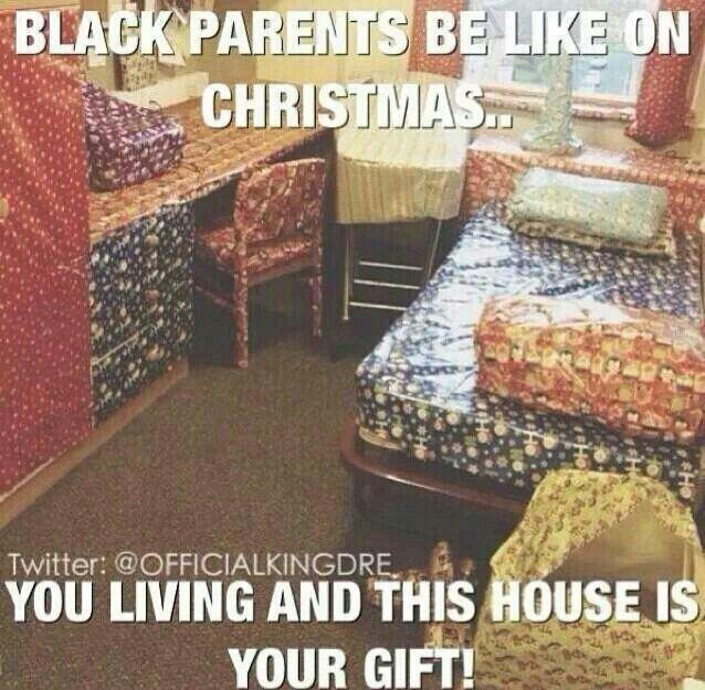 black parents christmas!