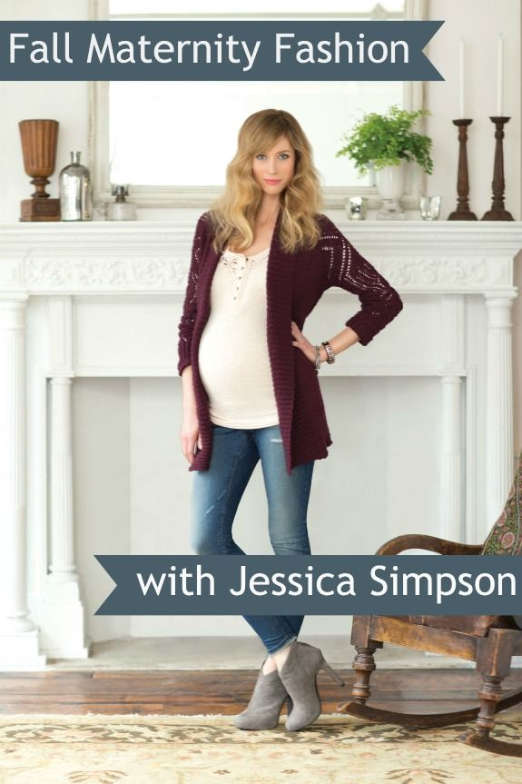 Fall Maternity #fashion with Jessica Simpson