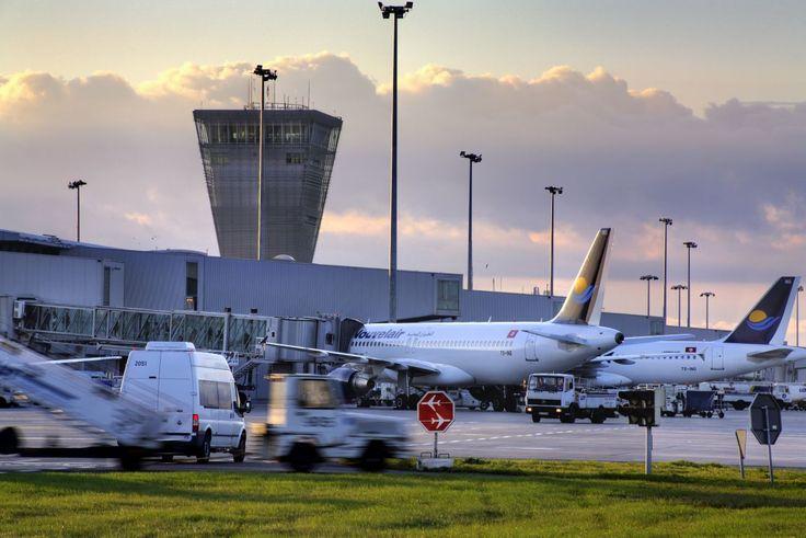 Lotnisko Chopina w Warszawie.