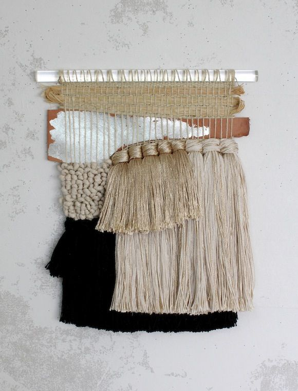 All Roads Angeles Crest Weaving, leather and metals with softer neutrals
