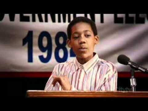 "Everybody Hates Chris - running for class president speech. to teach persuasive writing/elections ""My name is Chris and I'm running for your 8th grade class president""!"