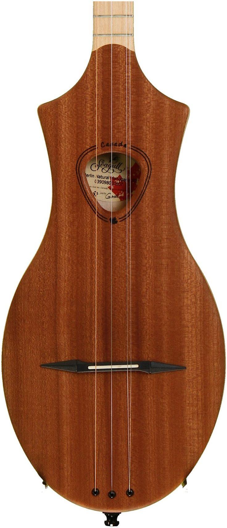 Seagull Guitars Merlin Mountain Dulcimer - Mahogany image 1