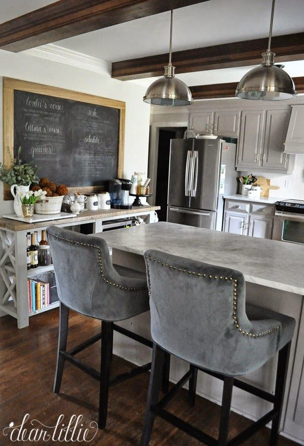 Dear Lillie: The Finishing Touches on Our Kitchen Makeover (Before and Afters)