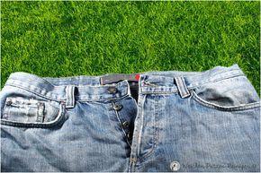 Grasflecken entfernen