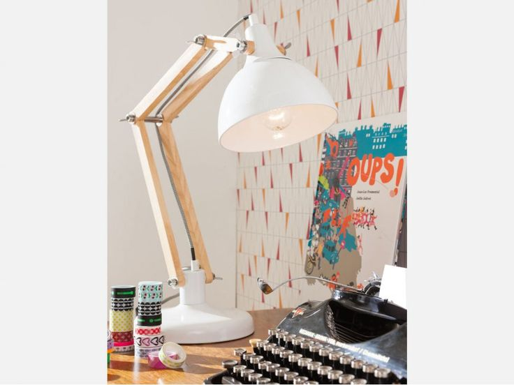Lampa Stołowa Work Station Biała — Lampy stołowe — KARE® Design  #KARE #KAREDesign  #furniture  #design  #homedecor #KARE24