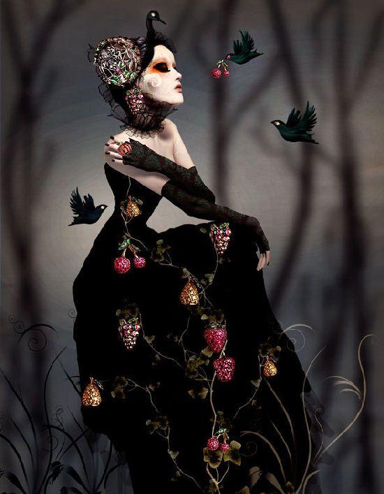 Extraordinaires bijoux pour Lydia Courteille by Natalie Shau - ego-alterego.com