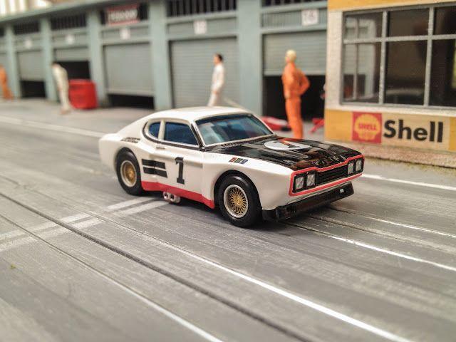 hO Slot Car Ford Capri 2600RS 12h Paul Ricard 1971 #1