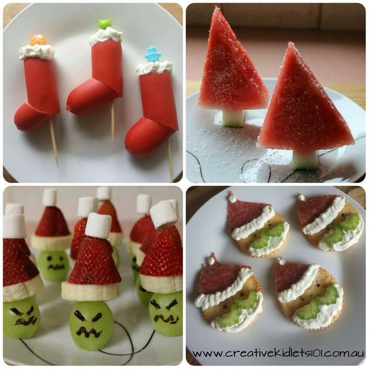 Fun Kids Food Ideas For Christmas Food Pinterest