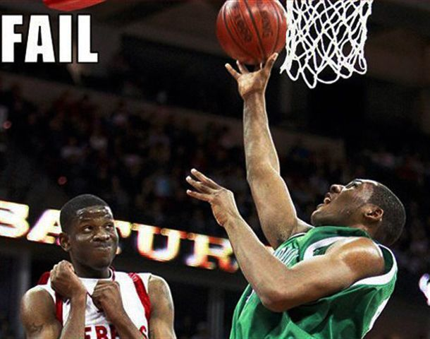 Funny Basketball Pictures #heavyhauling