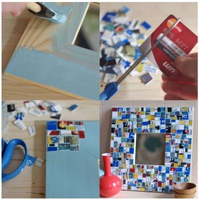 How to Make a Mosaic with Your Old Plastic