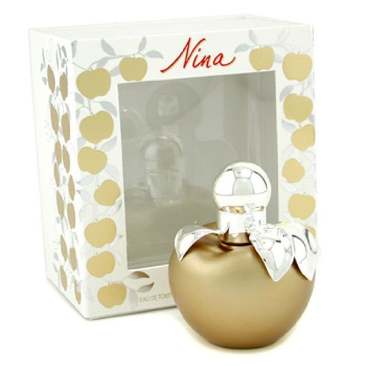NINA by Nina Ricci Gold Edition EDT Spray 1.7oz 50ml original sealed packaging