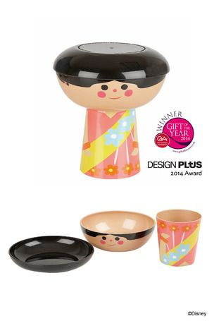 Indian Girl - PLA Eco #MealSet  Dimensions: Height - 17cm £20.00     In 1964, Walt Disney debuted the ride It's a Small World at the World's Fair in New York.It was so successful, Walt re-opened it at Disneyland in 1966.
