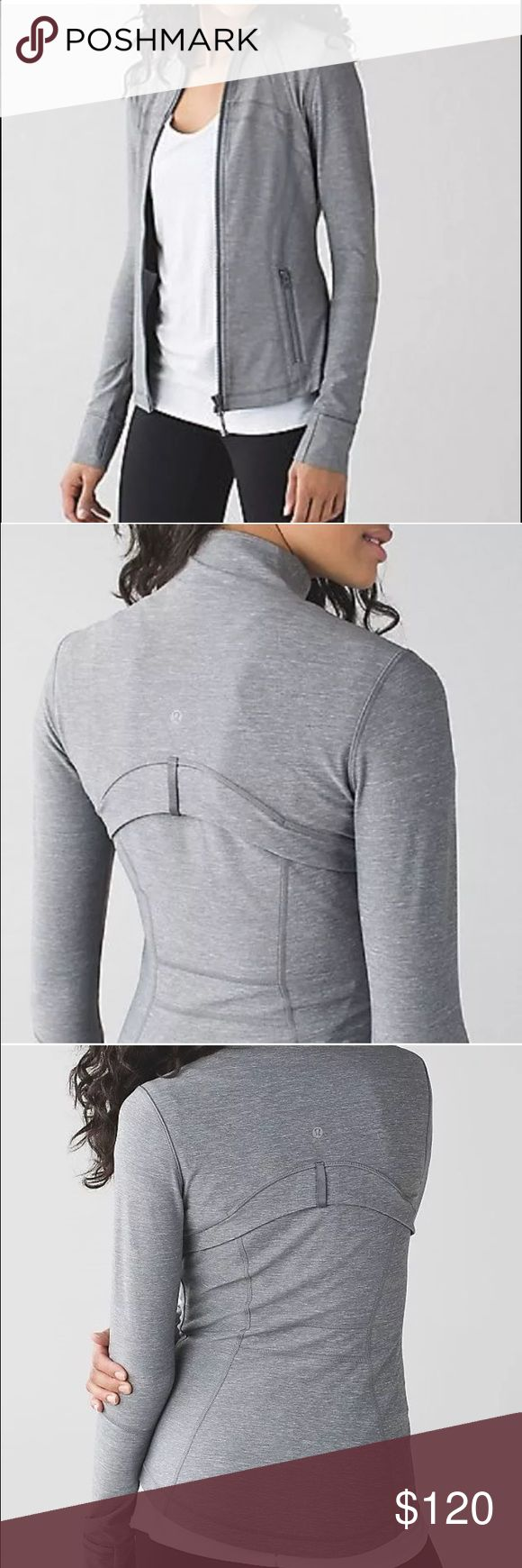 lululemon define jacket heathered grey New no tag. Cheaper on Ⓜ️. NO TRADES lululemon athletica Tops Sweatshirts & Hoodies