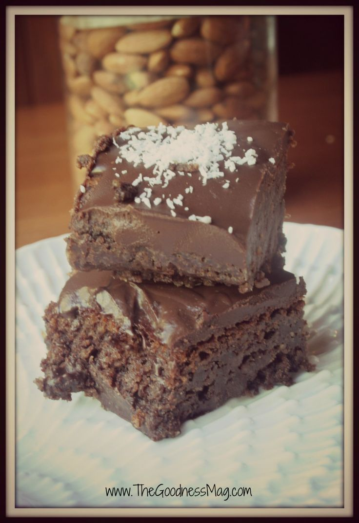 The Goodness Magazine - Gluten free brownies7 framed