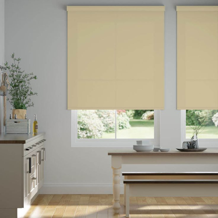 Classic fabric roller shades in 2020 house styles