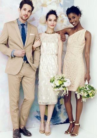 j. crew wedding: wedding gowns, groom's attire & bridesmaid dresses!