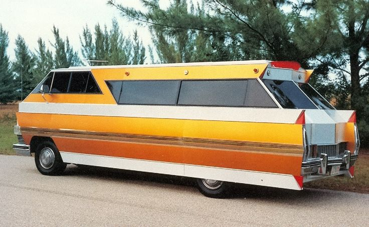 Who would like to go on a road trip in this badass Cadillac Eldorado motorhome? - Imgur