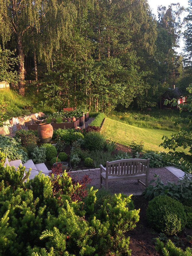 Fyllig trädgård