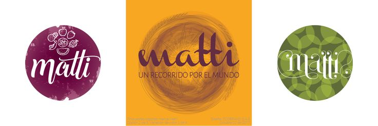"""Nuestras propuestas de logotipo para """"Matti"""", una marca colombiana de frutas deshidratadas que entra al mercado con nuevos conceptos de sabor, y una experiencia que se construye a partir de un riguroso trabajo de imagen de identidad básica. Diseño ECOBRAND S.A.S."""