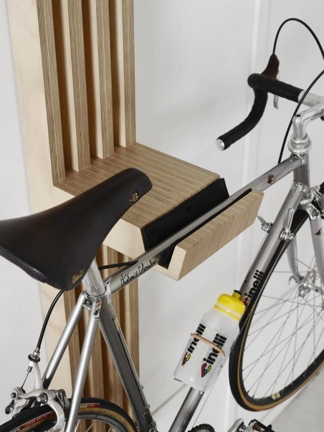30 de soluţii creative pentru a depozita bicicleta într-un apartament mic. Le puteţi face singuri – GALERIE FOTO
