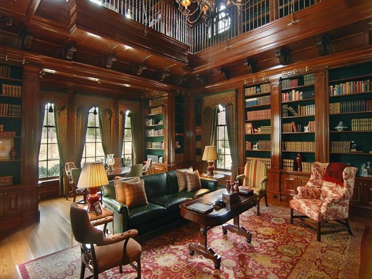 Nice Rosewood Mansion In Victorian House Interior Design : Classy .