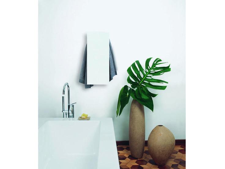 Secatoallas eléctrico de pared de aluminio SLIM Colección I Geometrici by mg12 | diseño Monica Freitas Geronimi