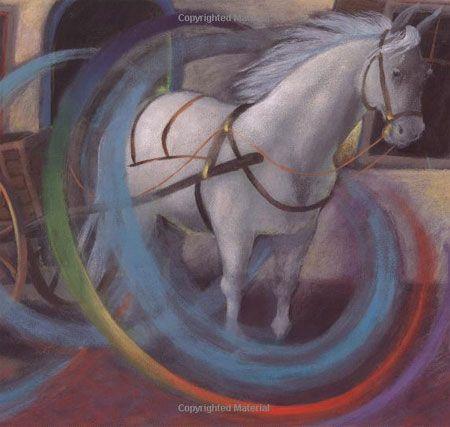 """Susan Gaber, Illustration for """"Raisel's Riddle""""."""