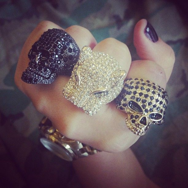 Ring takeover. #urbanoutfitters